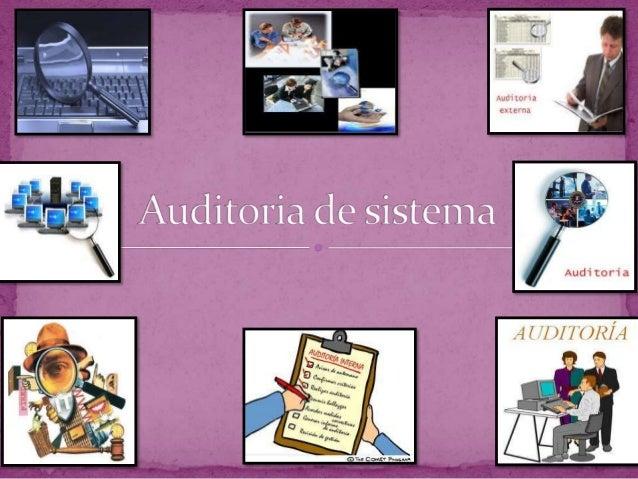  Una auditoria de tecnología de la información, oauditoria de sistemas de información, es un examen delos controles dentr...