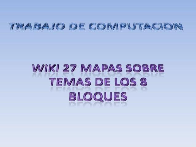 27 MAPAS DE 8 BLOQUES