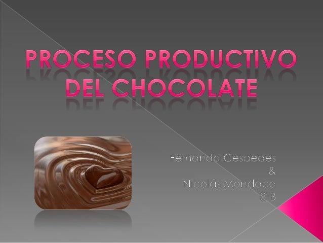  Definicion:Cacao  Introducción  Paso 1:Limpieza  Paso 2:Tostado  Paso 3:Descascarillado  Paso 4:Molido  Paso 5:Rel...