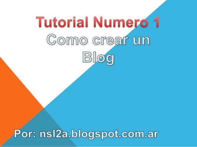 1° Iniciar sesión en Gmail y abrir www.blogger.com . 2° Configurar el idioma y cliquear en ¨Crear un perfil de Blogger ili...