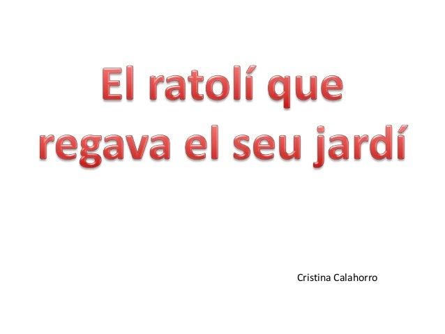 Cristina Calahorro