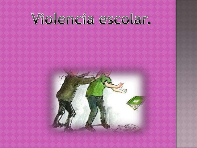 ¿Qué es la violencia?