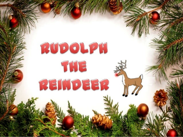 One Christmas not too long ago Rudolph, a very special Santa's deer, was standing alone on the day before Christmas. He wa...