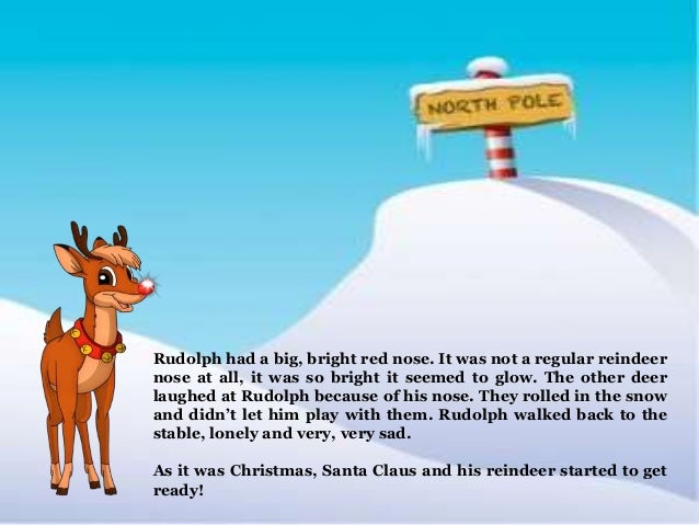 a creative story about santa and his reindeer It's a good story, says seibold, who illustrated the book  olive decides her true  calling is to help santa at the north pole, and indeed her sharp sense of smell.