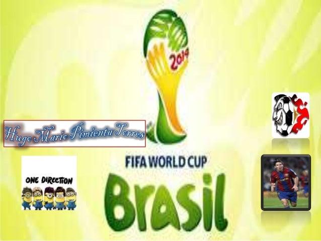 PROYECTO DE FIFA WORLD CUP brasil