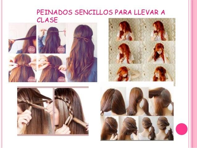 peinados sencillos para llevar a clase
