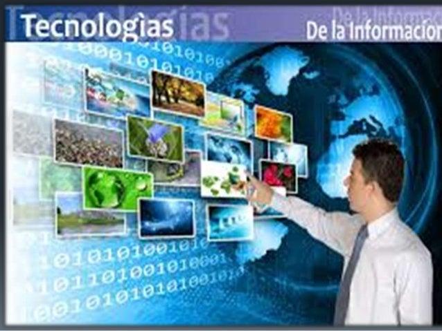 ¿QUE ES TECNOLOGíA ? La tecnología es el conjunto de saberes, conocimientos, experiencias, habilidades y técnicas a través...
