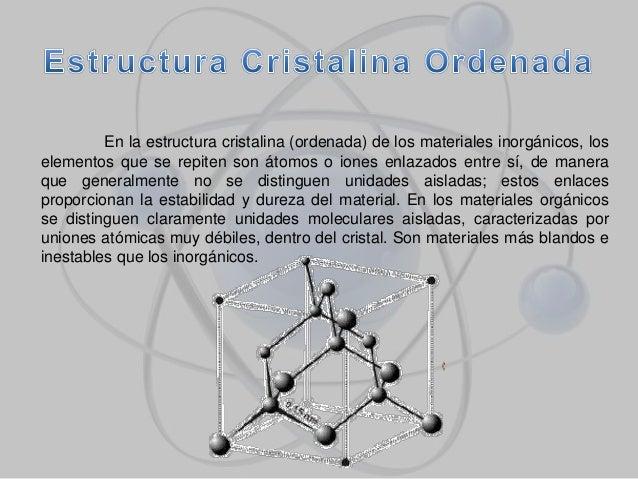 Atomos Y Estructura Cristalina