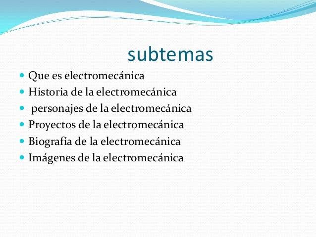 la electromecanica Slide 2
