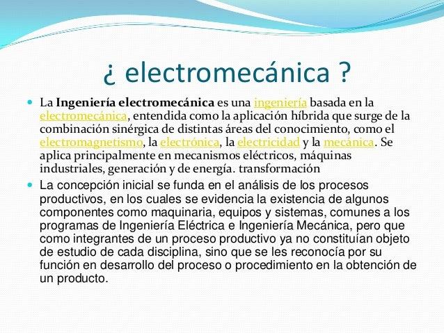 la electromecanica Slide 3