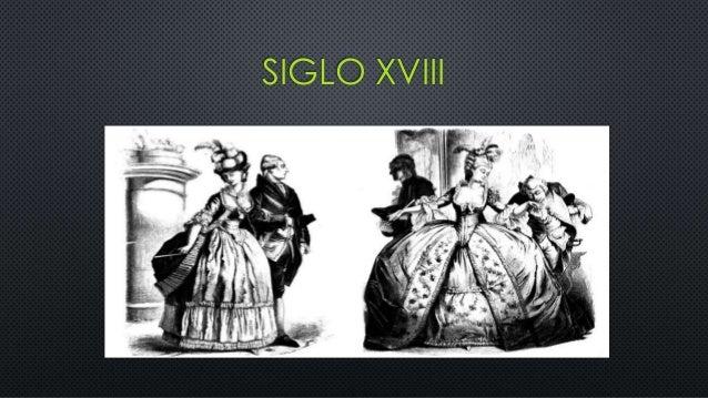 Vestimenta en el siglo XVIII Slide 2