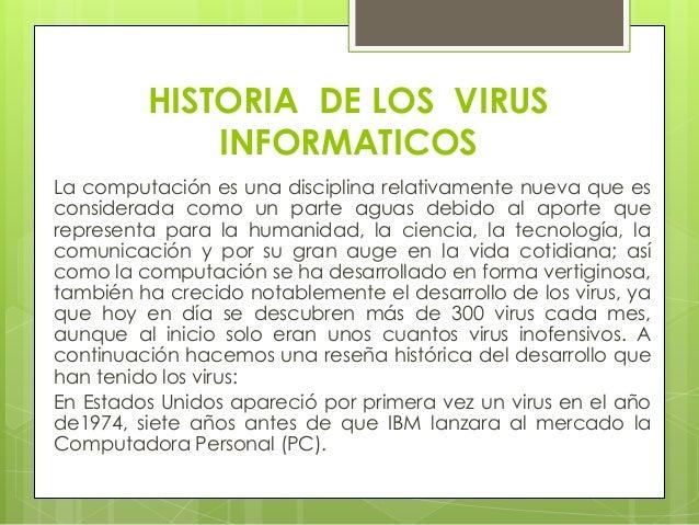 virus informaticos Slide 2