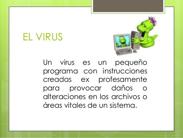 virus informaticos Slide 3