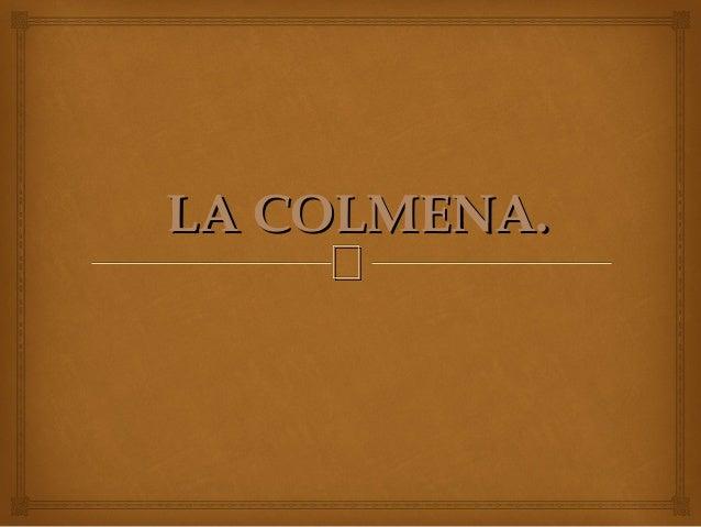 LLAA CCOOLLMMEENNAA..  