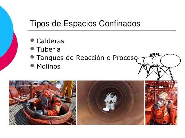Espacios confinados y permisos de trabajo - Tipos de espacios ...