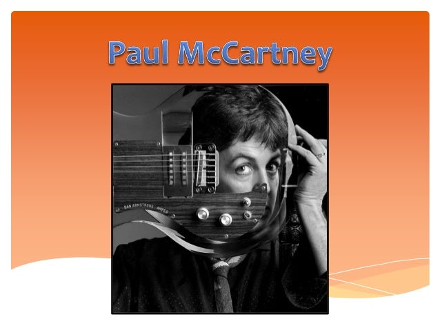 • Paul McCartney is an English rock singer, songwriter, poet, artist and animal rights activist. • He was born on June 18t...