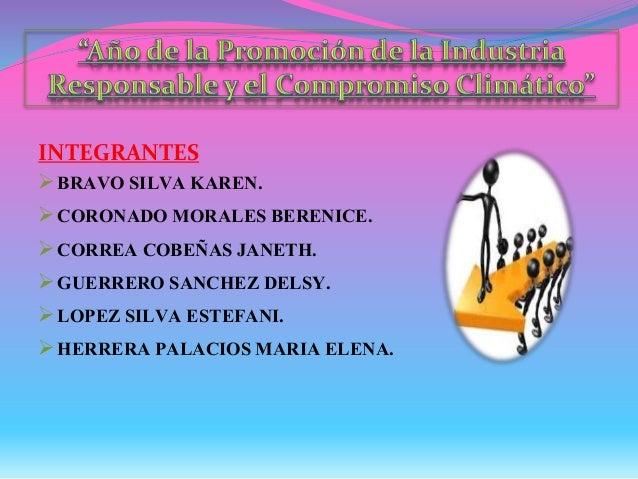 INTEGRANTES BRAVO SILVA KAREN. CORONADO MORALES BERENICE. CORREA COBEÑAS JANETH. GUERRERO SANCHEZ DELSY. LOPEZ SILVA ...