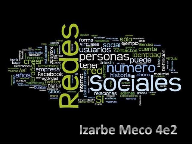 Una red social es una forma de representar  una estructura social, asignándole un símbolo, si  dos elementos del conjunto ...