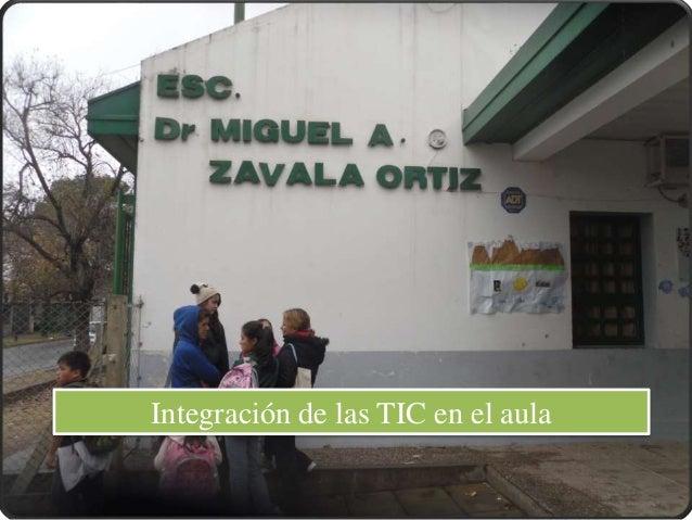 Integración de las TIC en el aula