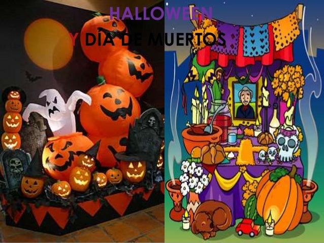 halloween y da de muertos - Halloween Dia