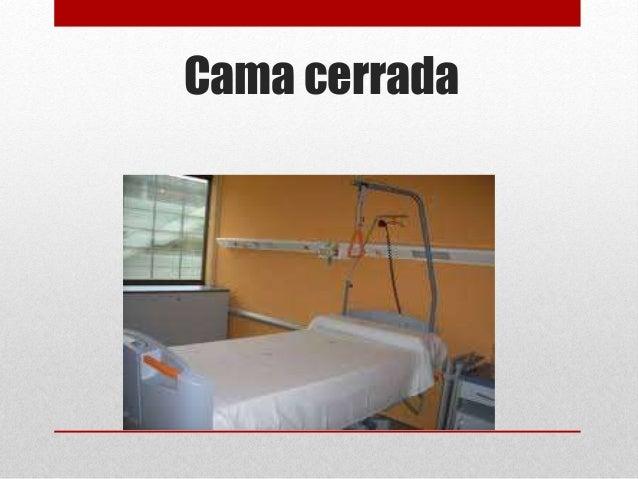 Tipos de camas hospitalarias for Cama cerrada