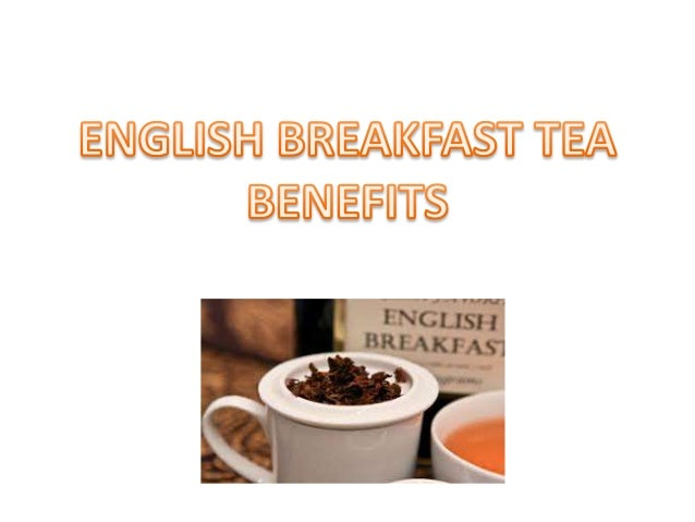 English breakfast tea ingredients