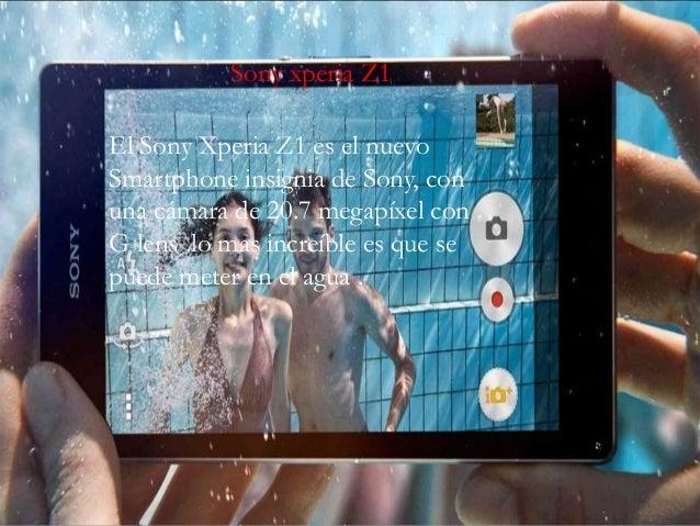 Sony xperia Z1 El Sony Xperia Z1 es el nuevo Smartphone insignia de Sony, con una cámara de 20.7 megapíxel con G lens .lo ...