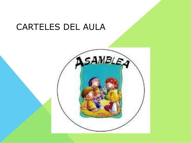 CARTELES DEL AULA