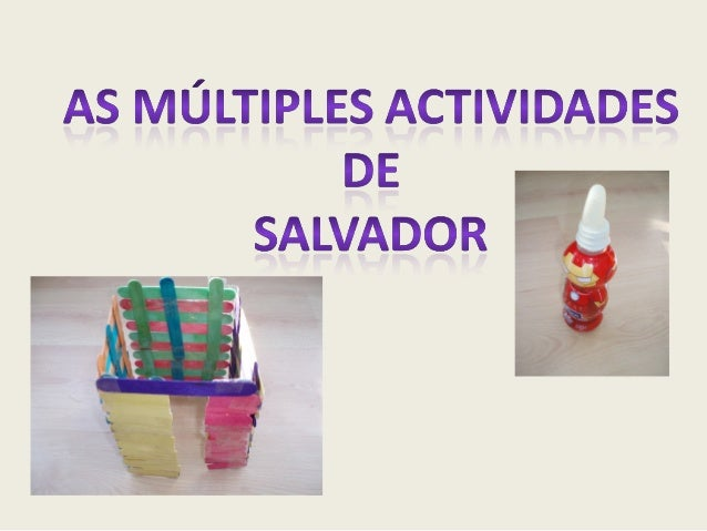 actividades Salvador