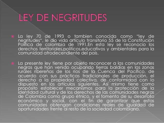 LEY 70 NEGRITUDES EPUB DOWNLOAD