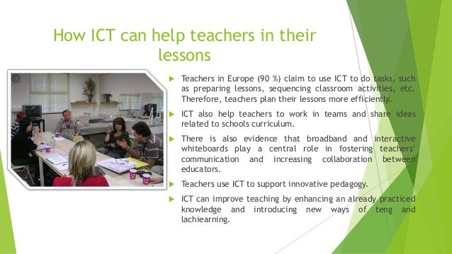 Innovative Ict Classroom ~ Advantages of using ict in learning teaching processes