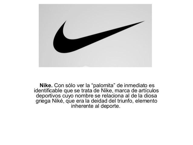 logotipo de nike significado
