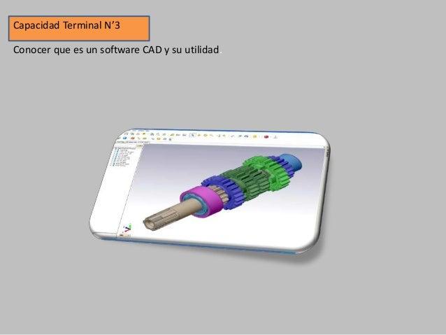 Capacidad Terminal N'4 Aprender a configurar el Software AutoCAD antes de comenzar a trabajar.