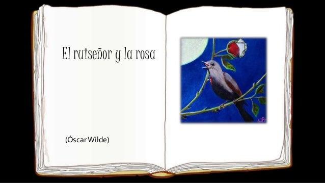 El ruiseñor y la rosa (ÓscarWilde)