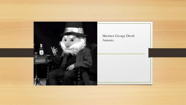 Martinez George David Antonio.