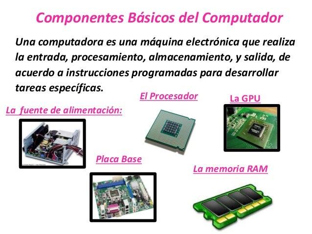 Componentes B Sicos Del Computador