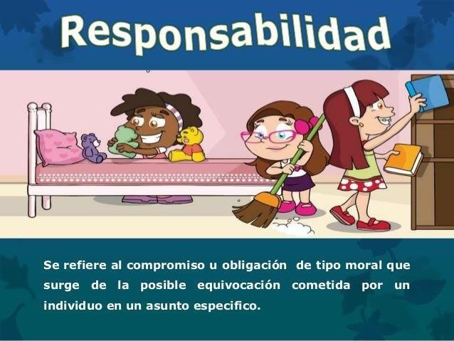 Se refiere al compromiso u obligación de tipo moral que surge de la posible equivocación cometida por un individuo en un a...