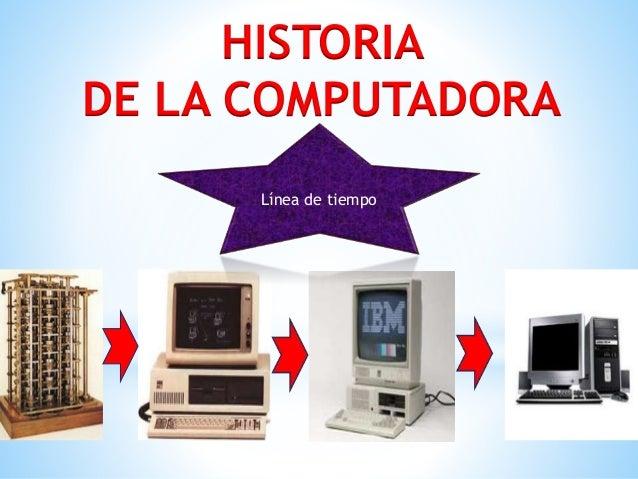 Linea de Tiempo de la Computadora - photo#19