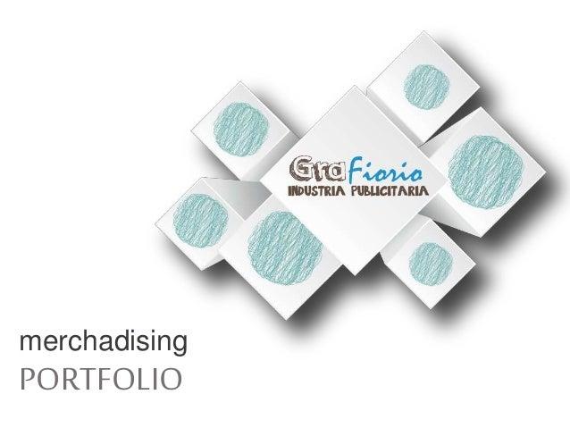 merchadising PORTFOLIO