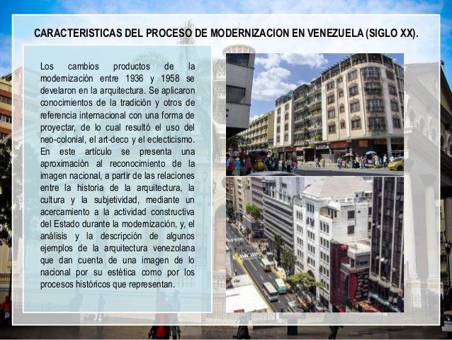Arquitectura moderna en venezuela for Arquitectura del siglo 20