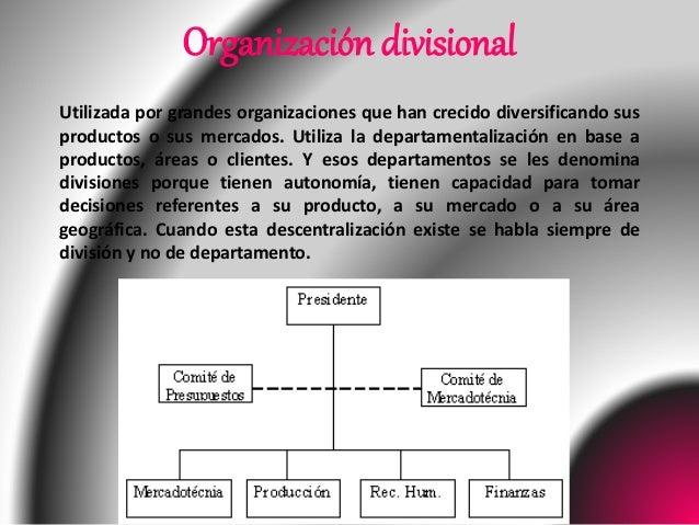 Tipos De Estructura Organizativa