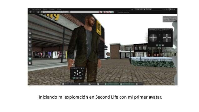 Iniciando mi exploración en Second Life con mi primer avatar.