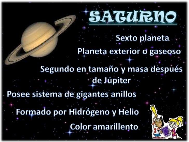 Presentación1 El Sistema Solar