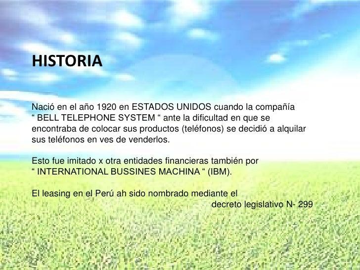 """HISTORIA  Nació en el año 1920 en ESTADOS UNIDOS cuando la compañía """" BELL TELEPHONE SYSTEM """" ante la dificultad en que se..."""