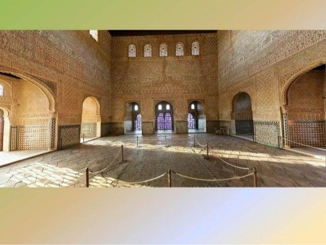 La Alhambra, Generalife y Jardines. Slide 3