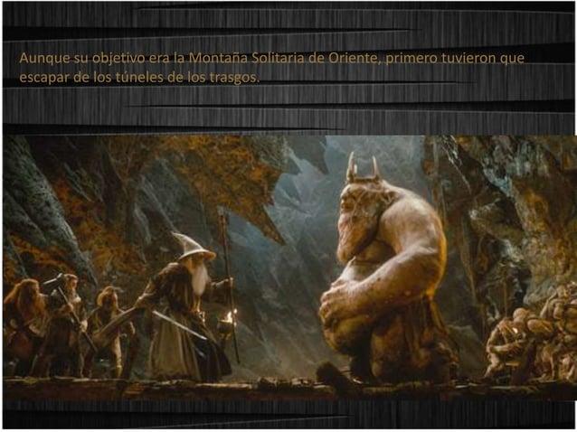 A orillas de un lago subterráneo será cuando Bilbo, al quedarse a solas con Gollum descubra no solo la profundidad del ing...