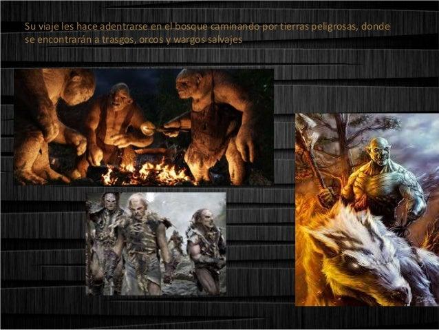Donde Bilbo se encuentra con la criatura que cambiará su vida para siempre, Gollum.