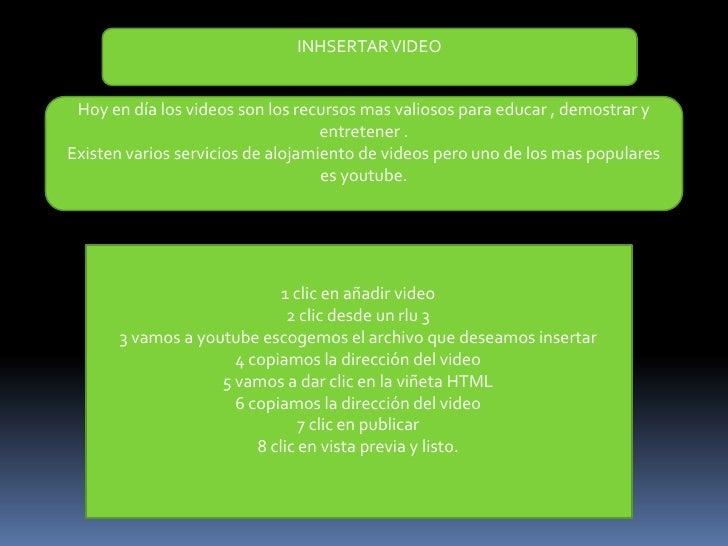 UTLIZANDO LOS WIDGETS la mayor parte de la plantilla para blog tiene lo que se conocecomo una barra lateral llamada sideba...