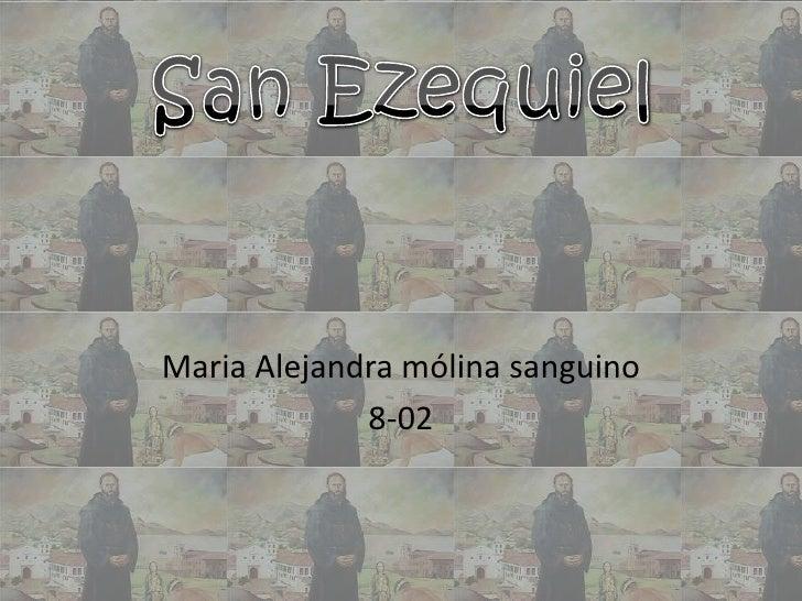 Maria Alejandra mólina sanguino             8-02