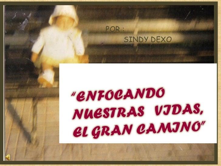 POR :  SINDY DEXO